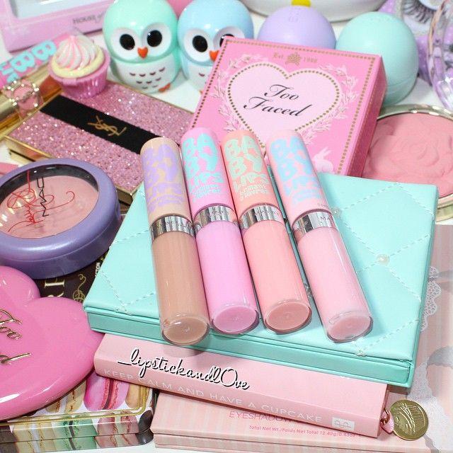 Pastel Makeup Goals @_lipstickandl0ve ♡♥♡♥♡♥