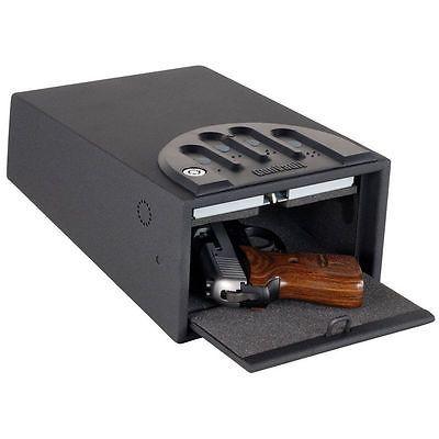 Gun Vault GV1000C-STD MiniVault Deluxe Gun Safe with 16-Gauge Steel Exterior #Home #Garden #Improvement #GV1000C-STD