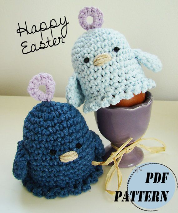 Items similar to Easter Egg Cosy, Crochet PDF Pattern on Etsy