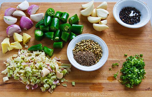 for thai green curry paste