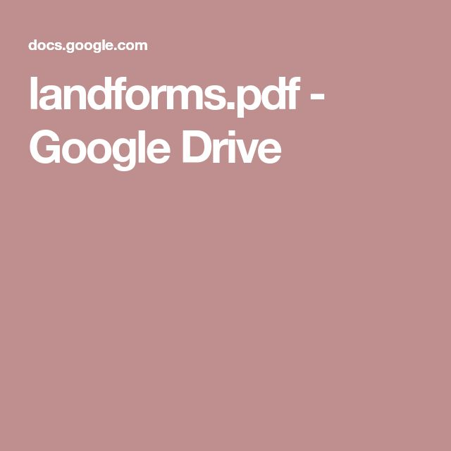 landforms.pdf - Google Drive