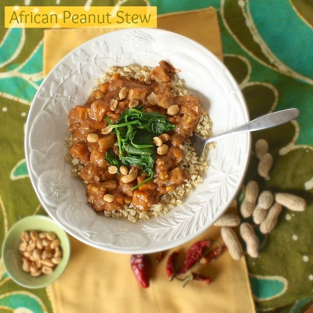 African Peanut Stew with Quinoa   Teaspoonofspice.com