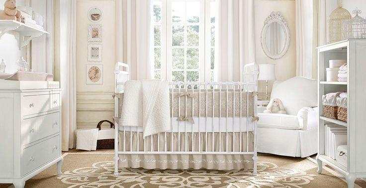 babies nurseries ideas   Beige Baby Nursery Ideas