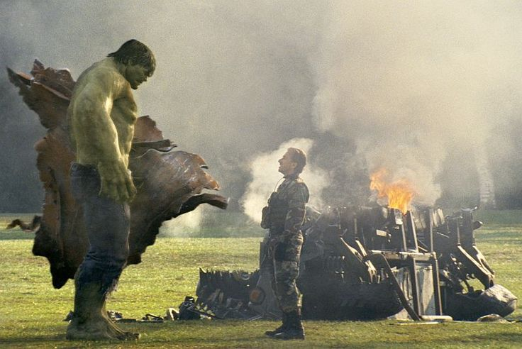 The Incredible Hulk (2008) - Hulk meets the Abomination...kinda