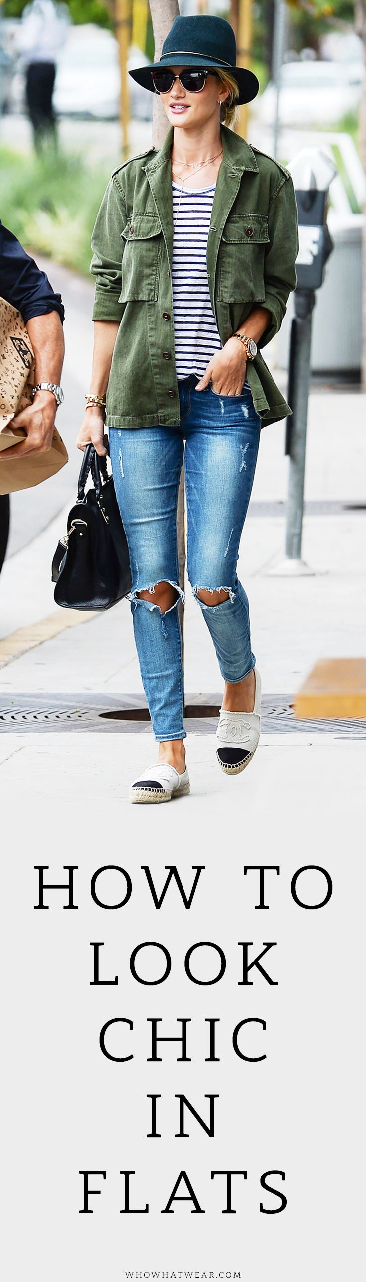 Celebs prove that flats can be sleek with any look.