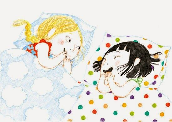 Pinzellades al món: Dormint les amigues / Durmiendo las amigas / Sleeping Girlfriend