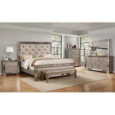 House of Hampton Chesmore Upholstered Platform Bed Size: California King