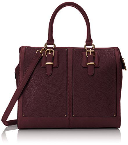 Aldo Imaal Satchel Bag, Bordo, One Size
