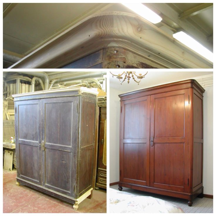 Restauro armadio della Lunigiana