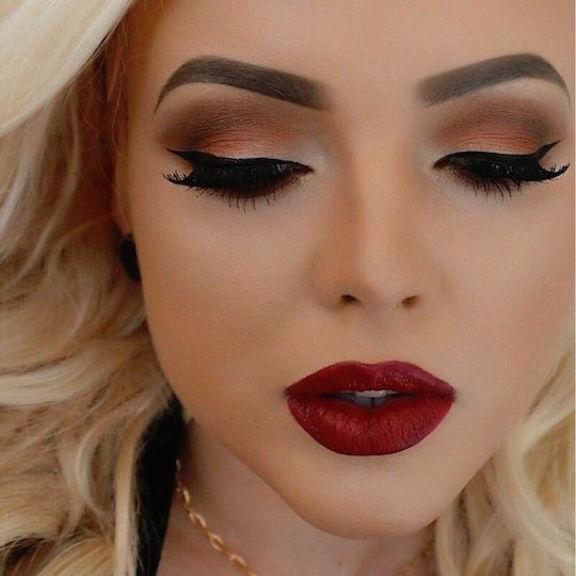 Ideas en maquillajes de noche. ¿Cuál te gusta más?