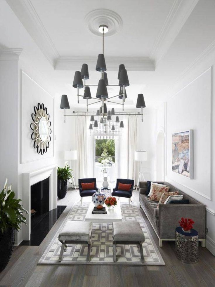 Best 10+ Narrow family room ideas on Pinterest | Living room with ...