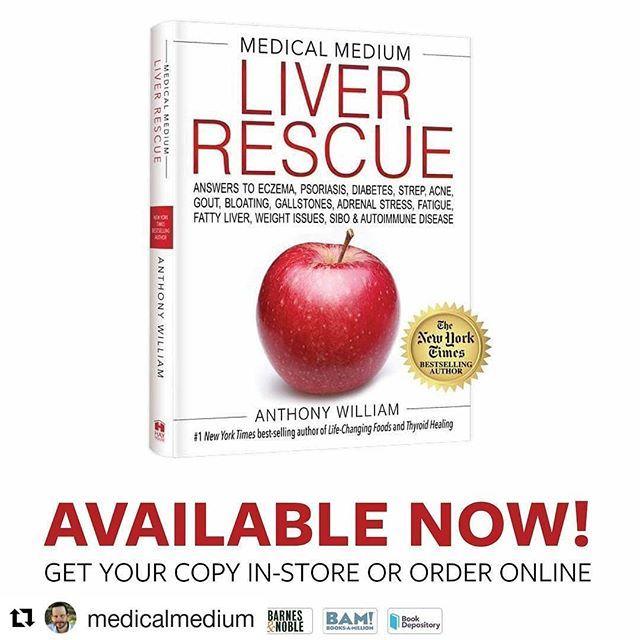 Repost @medicalmedium (@get_repost) I Wrote Liver Rescue For