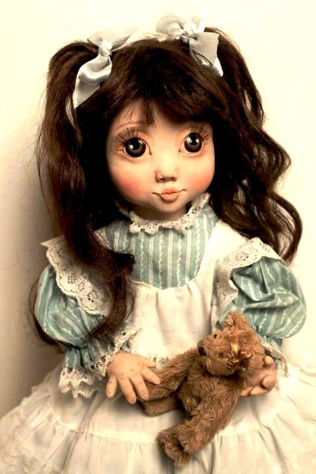 Авторские куклы Ольги Гречухи - http://arthandmade.net/grechyha.olga