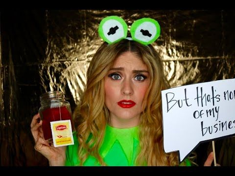 DIY | 'But that's none of my business.... ' Kermit  Costume - YouTube