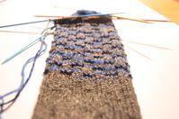Anleitung: Socken stricken aus Wollresten mit Bumerangferse
