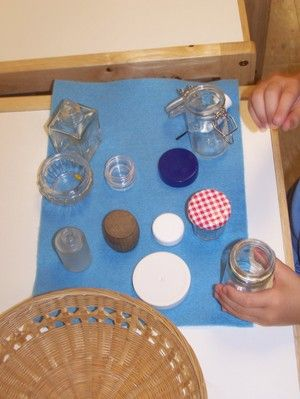 I LOVE Montessori! How simple and cool is this?