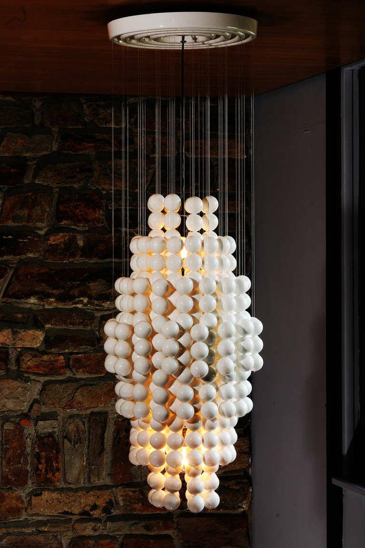 Verner panton interior design - Wonder Lamp By Verner Panton