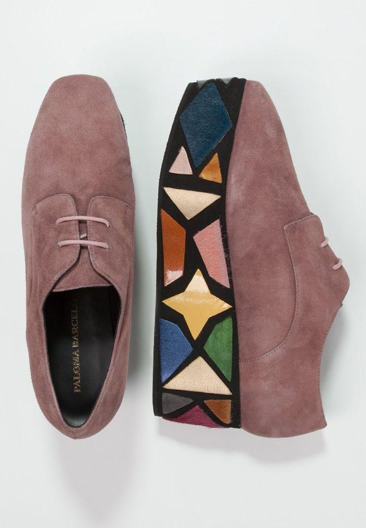 Chaussures basses Paloma Barceló Derbies - malva rose: 299,95 € chez Zalando (au 28/11/15). Livraison et retours gratuits et service client gratuit au 0800 490 80.