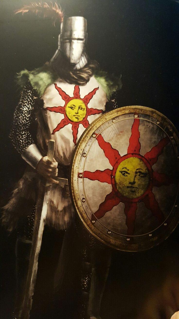 Dark souls - solaire sun bro