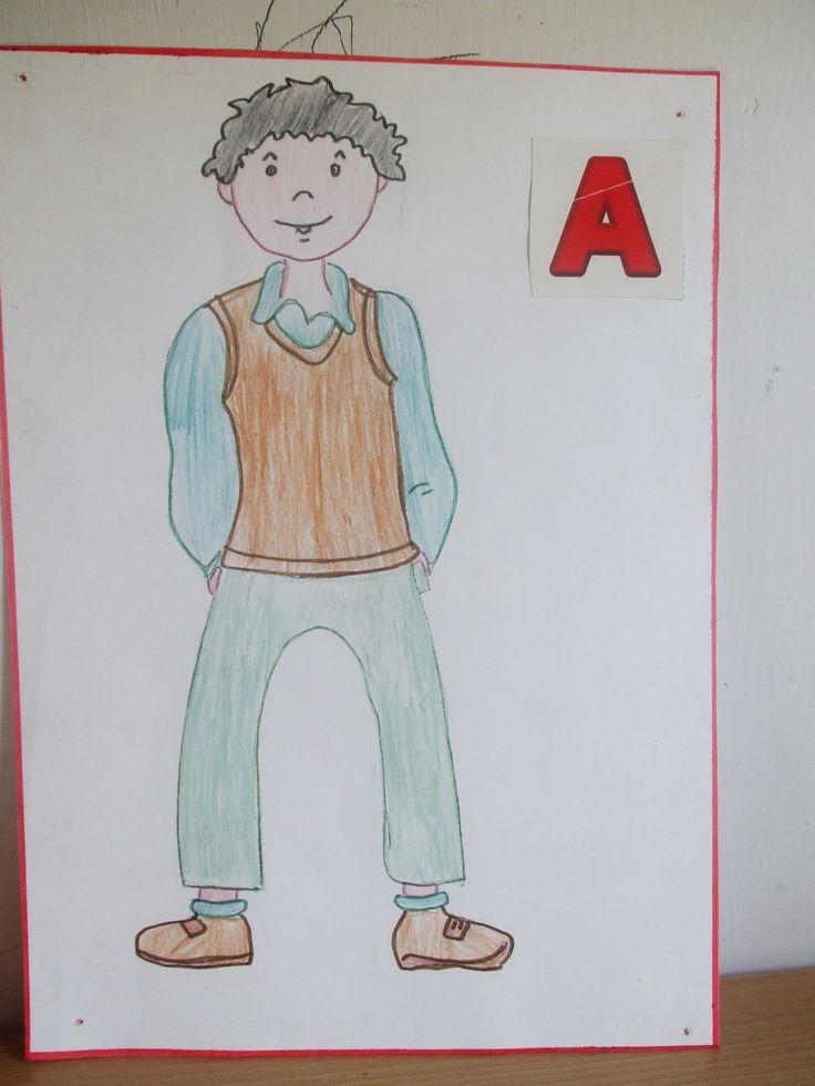 alfabeto in movimento A