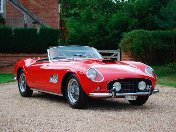 フェラーリ(1960 Ferrari 250 GT SWB Berlinetta Competizione)