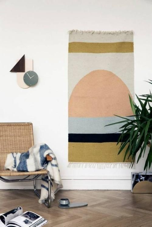 Home Goods Rugs How to Hang a Rug as Wall Art