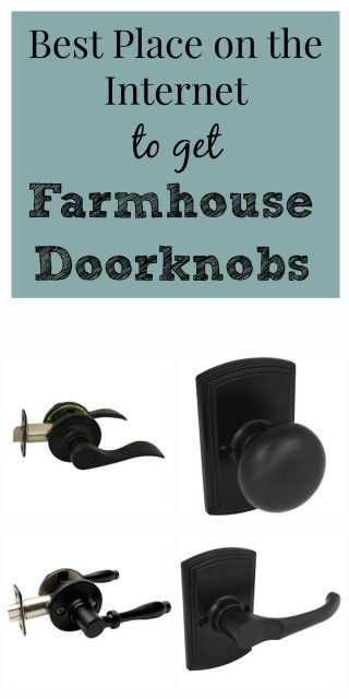 Best Place on the Internet to get Farmhouse Doorknobs – Restoration Redoux