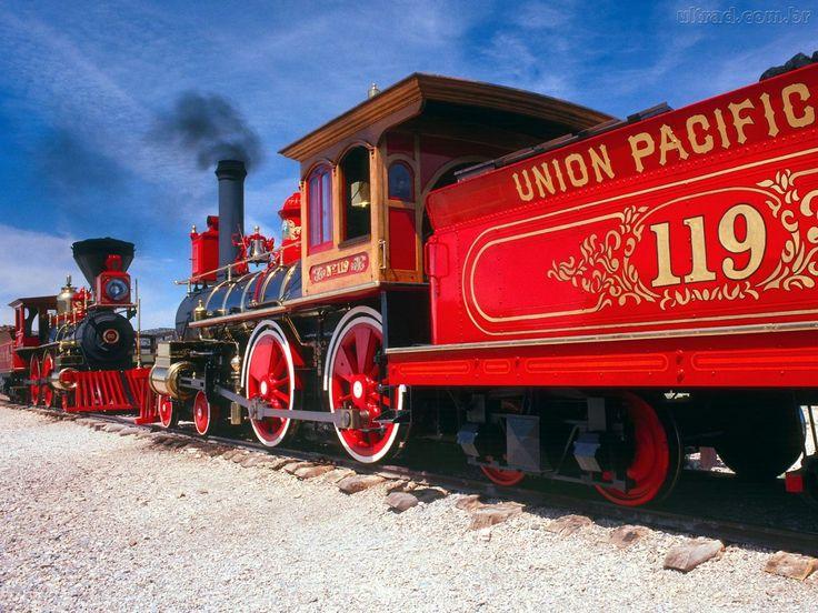 Train- Union Pacific car