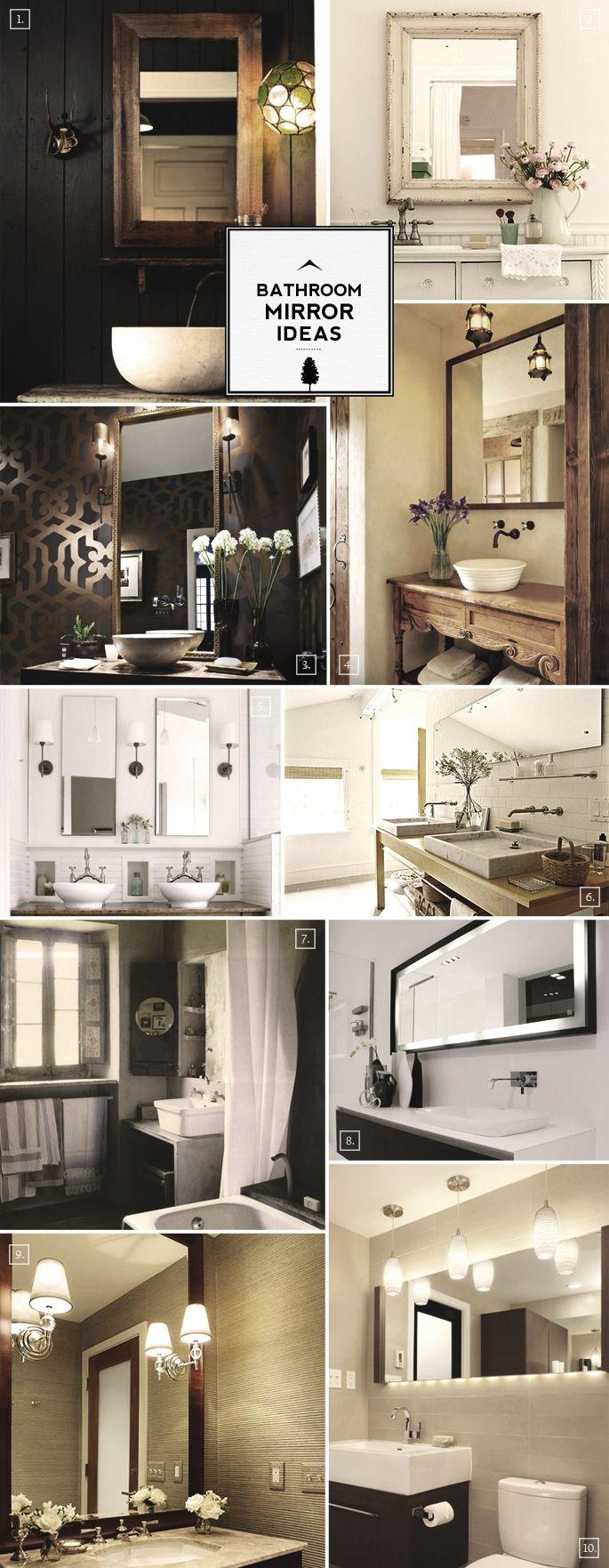 Designer Bathroom Mirror Ideas: From Lighting to Framing