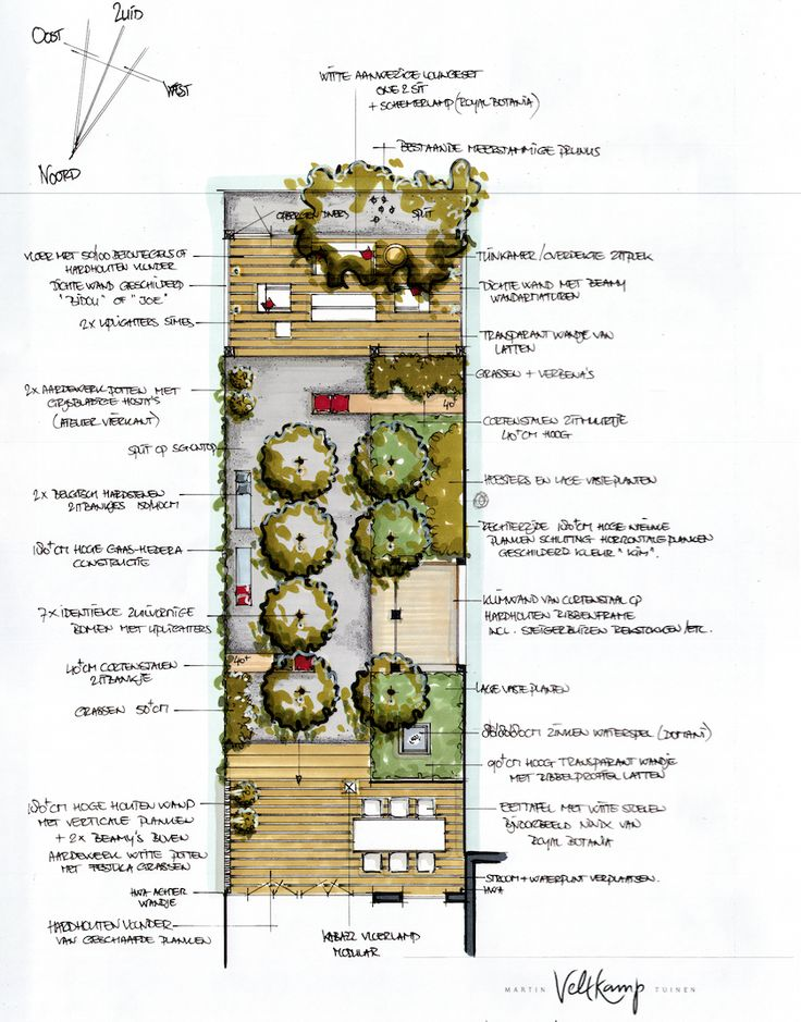 Small gardendesign of a project in Amsterdam.