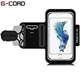 G-Cord® Sport Armband Running Pouch Sweat-Proof Case Bag for iPhone 6 6s SE 5 5s