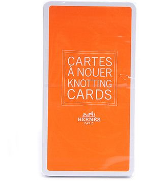 HERMES Knotting Cards Cartes A Nouer Scarf Guide NEW