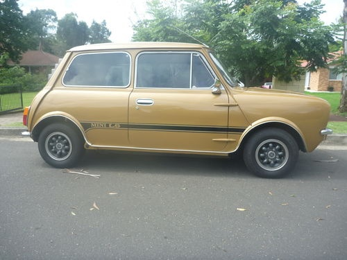 1978 Leyland Mini 998 LS Clubman Coupe located Tas For sale May