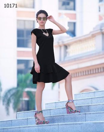 #Vyomini - #FashionForTheBeautifulIndianGirl #MakeInIndia #OnlineShopping #Discounts #Women #Style #Fashion #EthnicWear #OOTD #Dress #Summer #Black #LBD Click only Rs 1430/, get Rs 376/ #CashBack  ☎+91-9810188757 / +91-9811438585