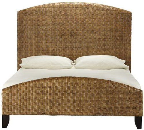 Cabana Leaf King Bed 58 2hx81wx87 5d Brown Home Decorators Collection
