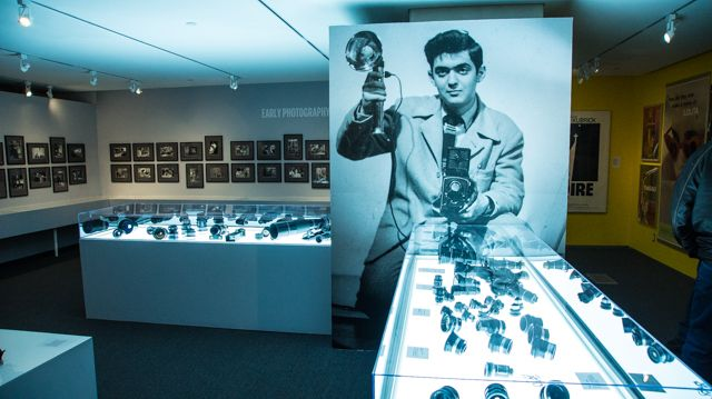 Stanley Kubrick Exhibit Camera Lenses