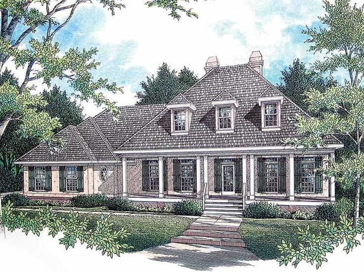 17 Best 1000 images about Colonial House Plans on Pinterest House