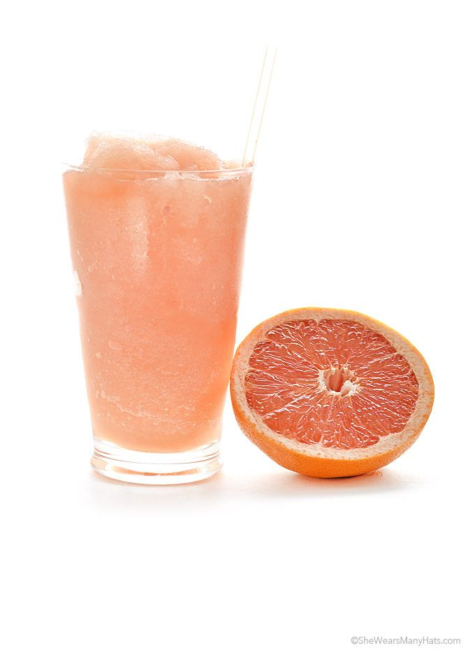 (Sub xylitol for sugar) This is prime grapefruit time right now! This super-quick and Easy Grapefruit Slush takes just 3 ingredients and a blender.