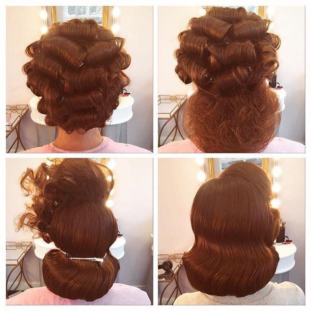 Pageboy #hairdressersworldwide #hairdressermagic #prohair #1950shair…