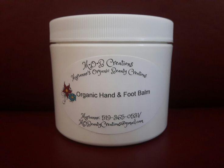 Organic Herbal Mint Hand & Foot Balm