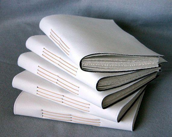 Canvas art journal... hand bound