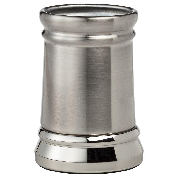 Bathroom Tumbler Silver Nickel - Threshold