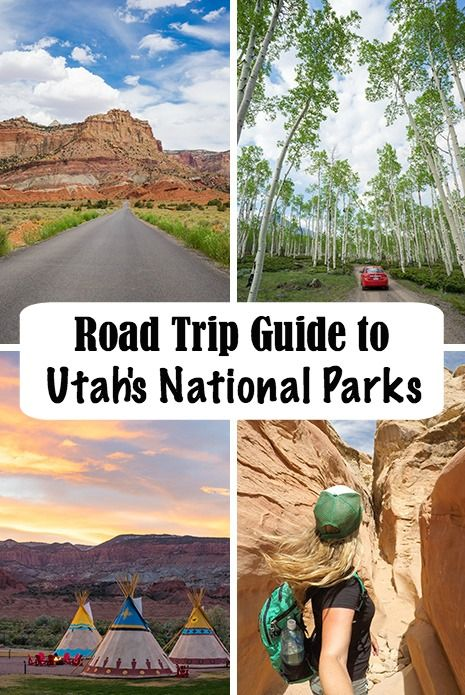 Road Trip Guide to Utah's Mighty 5 National Parks