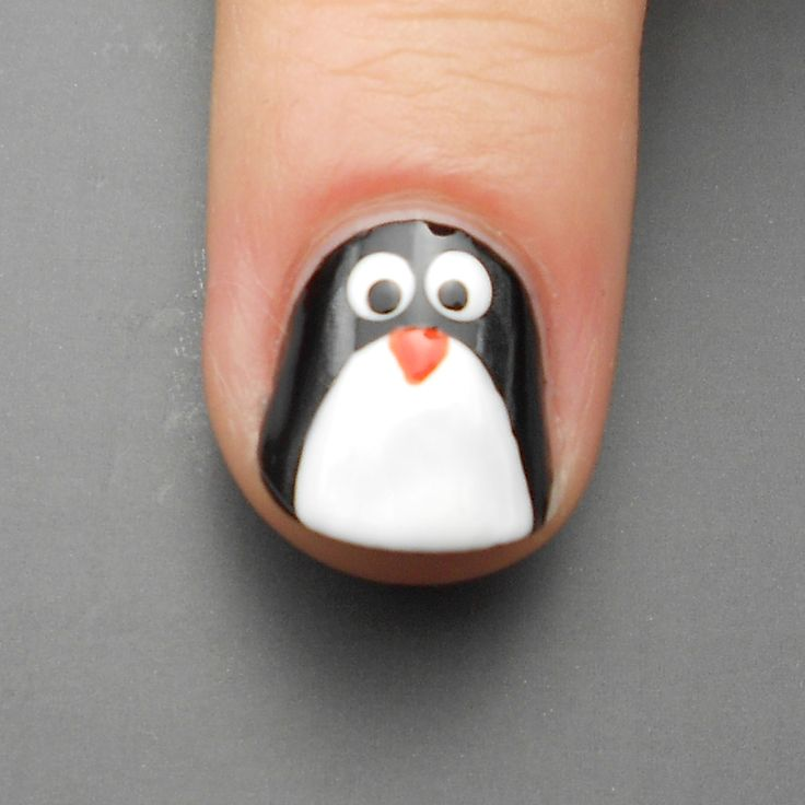 Penguin Nail Art Designs: Best 25+ Penguin Nails Ideas On Pinterest