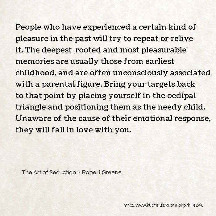 Kuote us! :: My Quotes in The Art of Seduction