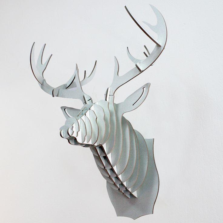 Декоративная голова оленя White Deer