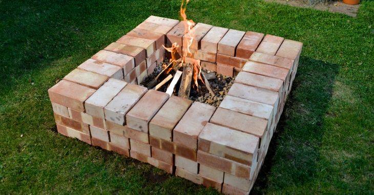 10 Creative Ways To Reuse Old Bricks Outdoor Fire Pit Designs Fire Pit Designs Fire Pit And Barbecue