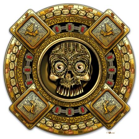 aztec gods | Mictlantecuhtli – Aztec God of Death ...