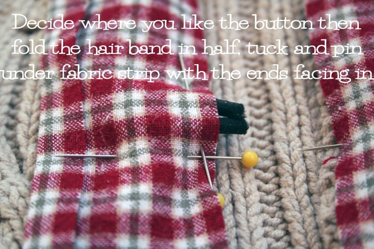 Good button tutorial using hair band. -MUpcycle a thrift store sweater with this easy to follow photo tutorial by the Renegade Seamstress