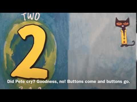 Pete the Cat and his 4 groovy buttons - great for worry/size of a problem.  Full story.